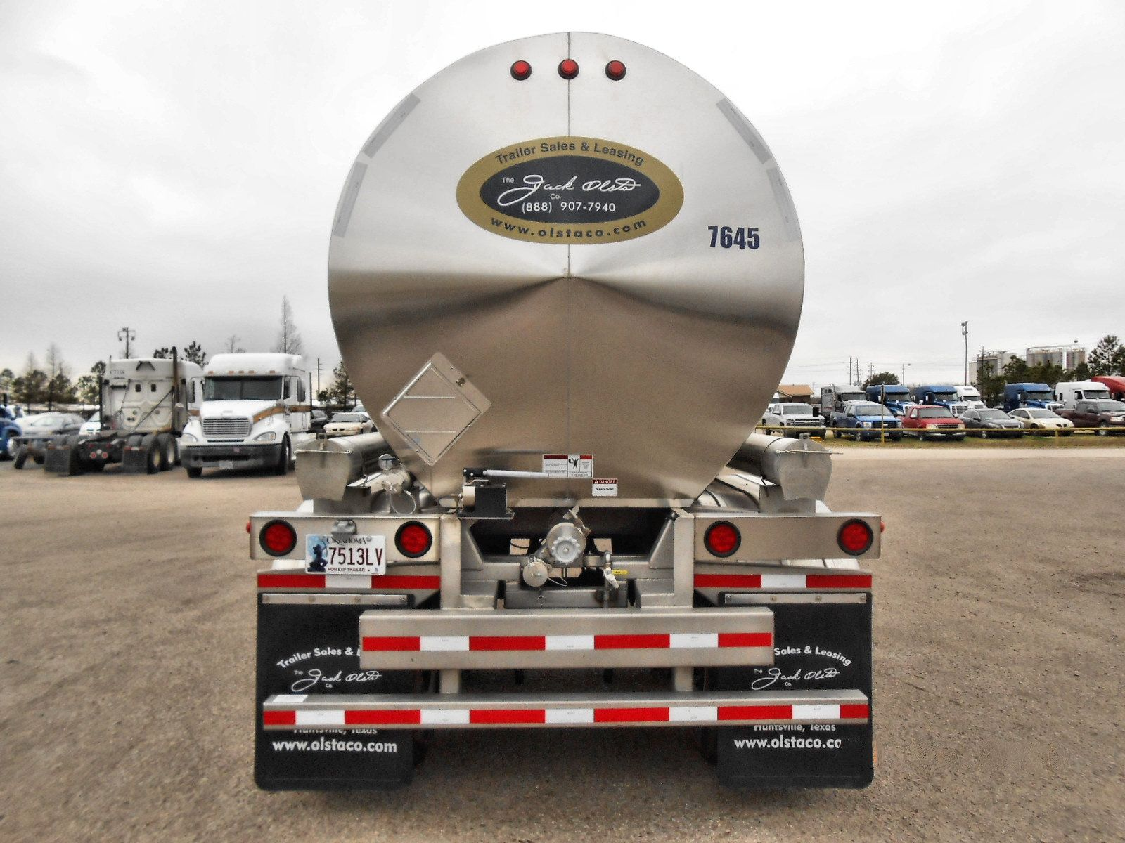 Tank Trailer Rentals for Lease | The Jack Olsta Co