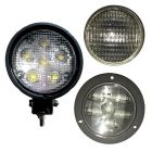 WHITE TANK TRAILER LIGHTS