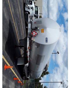 USED 2012 POLAR 8500 GAL 1 CMPT PETRO TRAILER FOR SALE