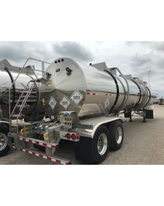 USED 2020 HEIL 8000 GAL 3 CMPT CHEMICAL TRAILER FOR SALE