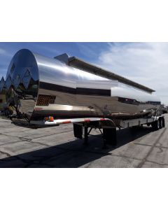USED 2011 POLAR 7200 GAL 5 CMP CHEMICAL TRAILER FOR SALE