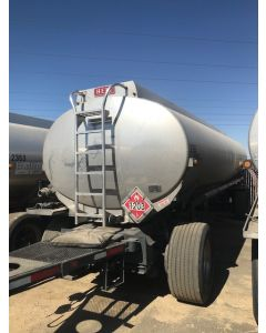 USED 2006 HEIL  5314 GAL 3 CMPT PULL TRAILER FOR SALE