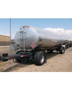 USED 2005 HEIL  5290 GAL 3 CMPT PULL TRAILER FOR SALE