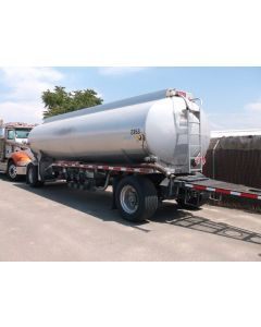 USED 2005 HEIL 5314 GAL 3 CMPT PULL TRAILER FOR SALE