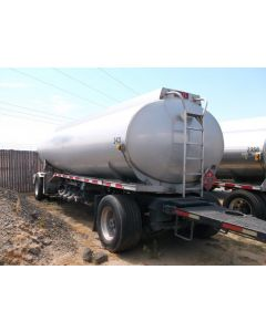 USED 2008 HEIL 5314 GAL 3 CMPT PULL TRL TRAILER FOR SALE