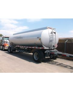 USED 2008 HEIL 5314 GAL 3 CMPT PULL TRAILER FOR SALE