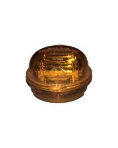 2 In. Yellow Marker Light With Plug