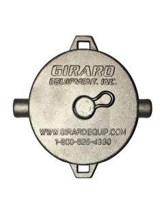 Girard 3 In. Aluminum Cleanout Cap