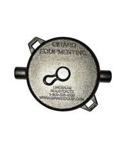Girard 3 In. Stainless Steel Cleanout Cap