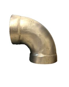 "Elbow, Belled, 3"", Long Radius, 90 Degrees, Aluminium"
