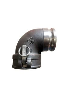 Tank Trailer Ductile 90 Degrees Fitting
