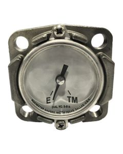 Rochester 2 In. Stainless Steel Gauge