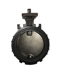 6 In. Black Maxx Valve, Ductile Iron Disk