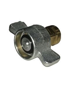 HYDRAULIC COUPLING, 1 IN. BRASS
