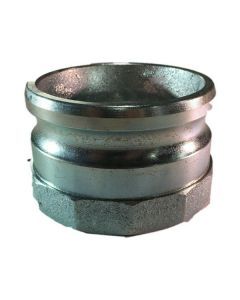 Cam And Groove Fitting, 4 In. Iron Part A