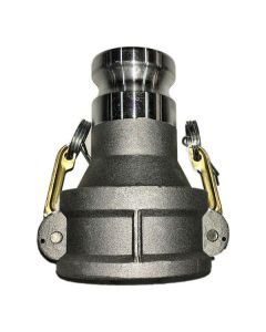CAMLOCK FITTING 3 IN. FEMALE COUPLER X 2 IN. ADAPTER