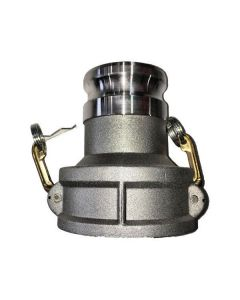 Camlock Fitting 4 In. Female Coupler X 3 In. Male Adapter
