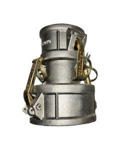 Camlock Fitting Aluminum 3 In. X 2 In. Female