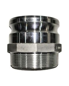 Camlock Fitting- 2 In. Part F, Aluminum