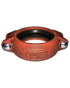 "Heavy Duty Grooved Clamp, 4"" Iron Body, Buna Seat"