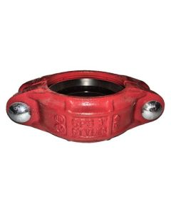 "Heavy Duty 4"" Grooved Coupling With Buna Seat"