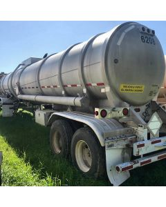 USED 2000 HEIL 8400 GAL 1 CMPT ALUM CRUDE FOR SALE