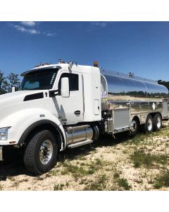 USED 2020 KENWORTH 5000 GAL 5 CMPT ALUM BOBTAIL FOR SALE