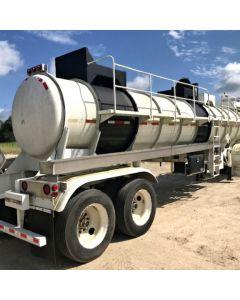 USED 1998 BRENNER 5500 GAL 1 CMPT VACUUM TRAILER FOR SALE