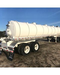 USED 2015 CT FABRICATION 130 BARREL  VACUUM TRAILER FOR SALE
