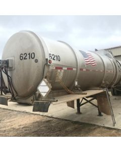 USED 2001 HEIL 8400 GAL 1 CMPT ALUM CRUDE FOR SALE