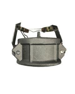 Camlock Fitting 3 In. Aluminum Dust Cap