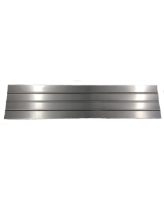Flat Aluminum 132 In. Fender