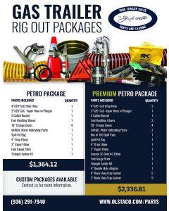 Premium Gas Trailer Package