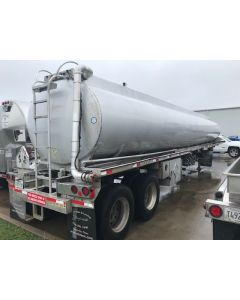 USED 1997 POLAR 9400 GAL 4 CMPT FUEL TANK TRAILER FOR SALE