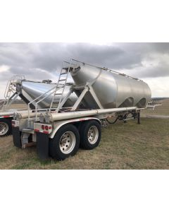 USED 2015 SOUTHERN  1040 CU FT  DRY BULK TRAILER FOR SALE