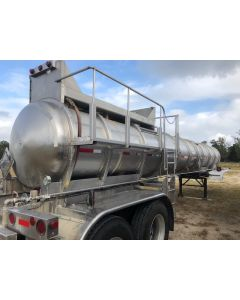 USED 1998 BRENNER 3800 GALLON CHEMICAL TRAILER FOR SALE