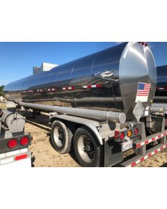 USED 2019 POLAR 7000 GAL 1 CMPT CHEMICAL TRAILER FOR SALE