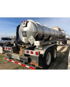 USED 1999 POLAR 4200 GAL 1 CMPT CHEMICAL TRAILER FOR SALE