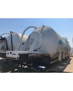 USED 2006 TROXELL VIKING 4000 CU FT STORAGE BN TRAILER FOR SALE