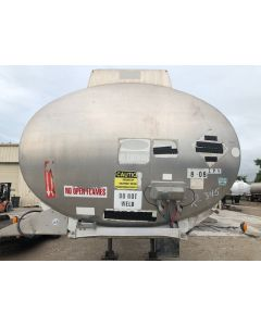 USED 2009 POLAR 8000 GAL 1 CMPT FUEL TANK TRAILER FOR SALE