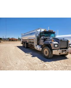 USED 1999 MACK 5000 GAL 5 CMPT BOBTAIL TRAILER FOR SALE