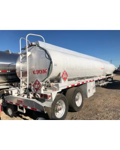 USED 2008 HEIL 9000 GAL 5 CMPT FUEL TANK TRAILER FOR SALE