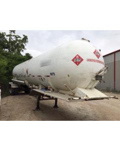 USED 1972 MISSISSIPPI 10,600 GAL LPG TRAILER FOR SALE
