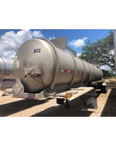 USED 1994 BRENNER 6000 GAL 1 CMPT CHEMICAL TRAILER FOR SALE