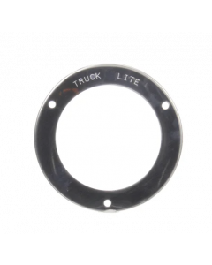 """4"""" Round Stainless Steel Flange Cover/Harness for Pulsating Light"""