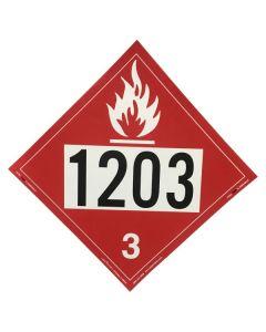1203 Adhesive Back Placard